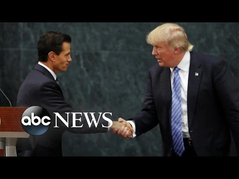 Donald Trump Meets Mexico's President