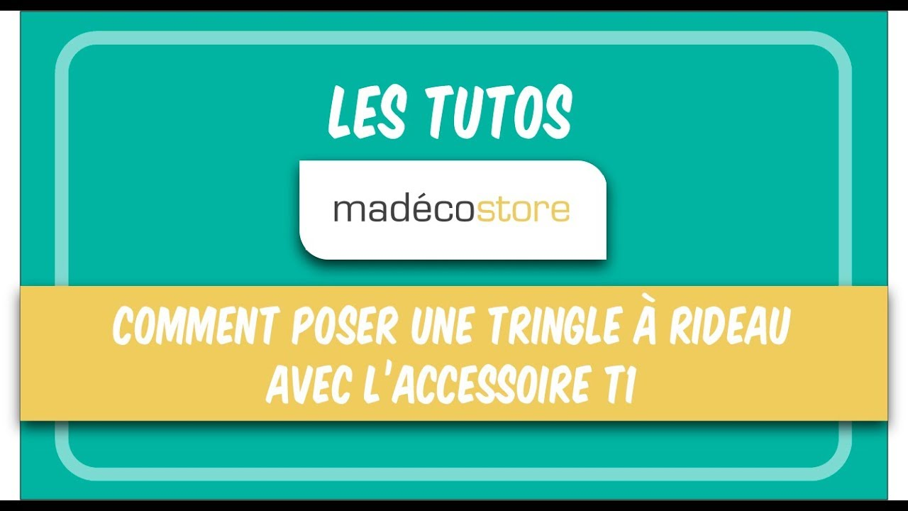 Pose rideau sans percer comment poser une tringle - Accrocher un tableau sans percer ...