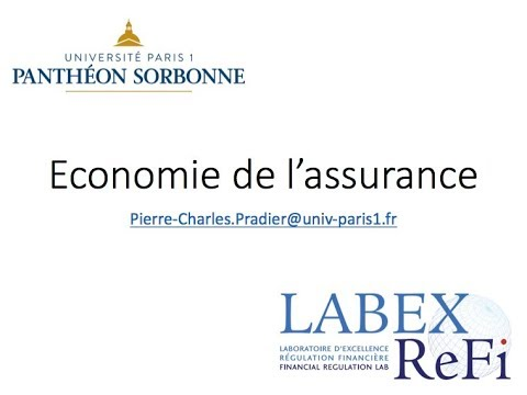 économie de l'assurance - cours 1