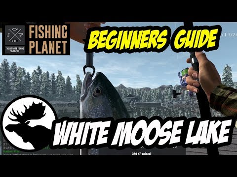 Fishing Planet - White Moose Lake - Atlantic Salmon, Lake Trout, Northern Pike (2017)