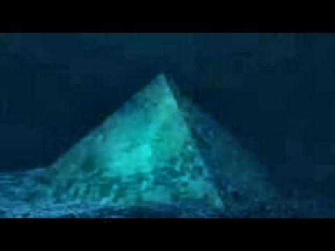 Crystal Pyramid in the Bermuda Triangle