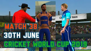 India vs England Live Stream Prediction 30th June 38th ICC World cup match World championship Wcc2