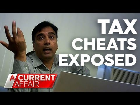 tax-agent-caught-collecting-other-people's-tax-returns-|-a-current-affair