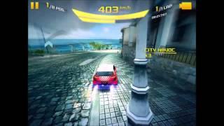 Asphalt 8 : Tenerife Cup - Golf GTI (1:10:3xx)