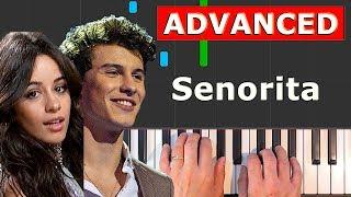 Senorita Shawn Mendes - Camila Cabello - Piano Tutorial Easy.mp3