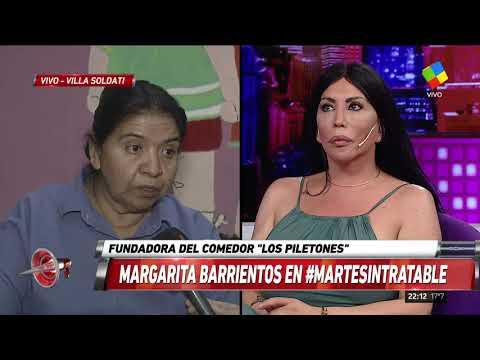 """Margarita Barrientos: """"Aumentó la gente que viene al comedor"""""""