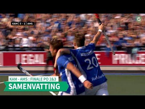 Hoofdklasse (H): FINALE play-offs 2 & 3 Kampong - Amsterdam