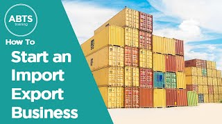 webinar recording how to start an import export business