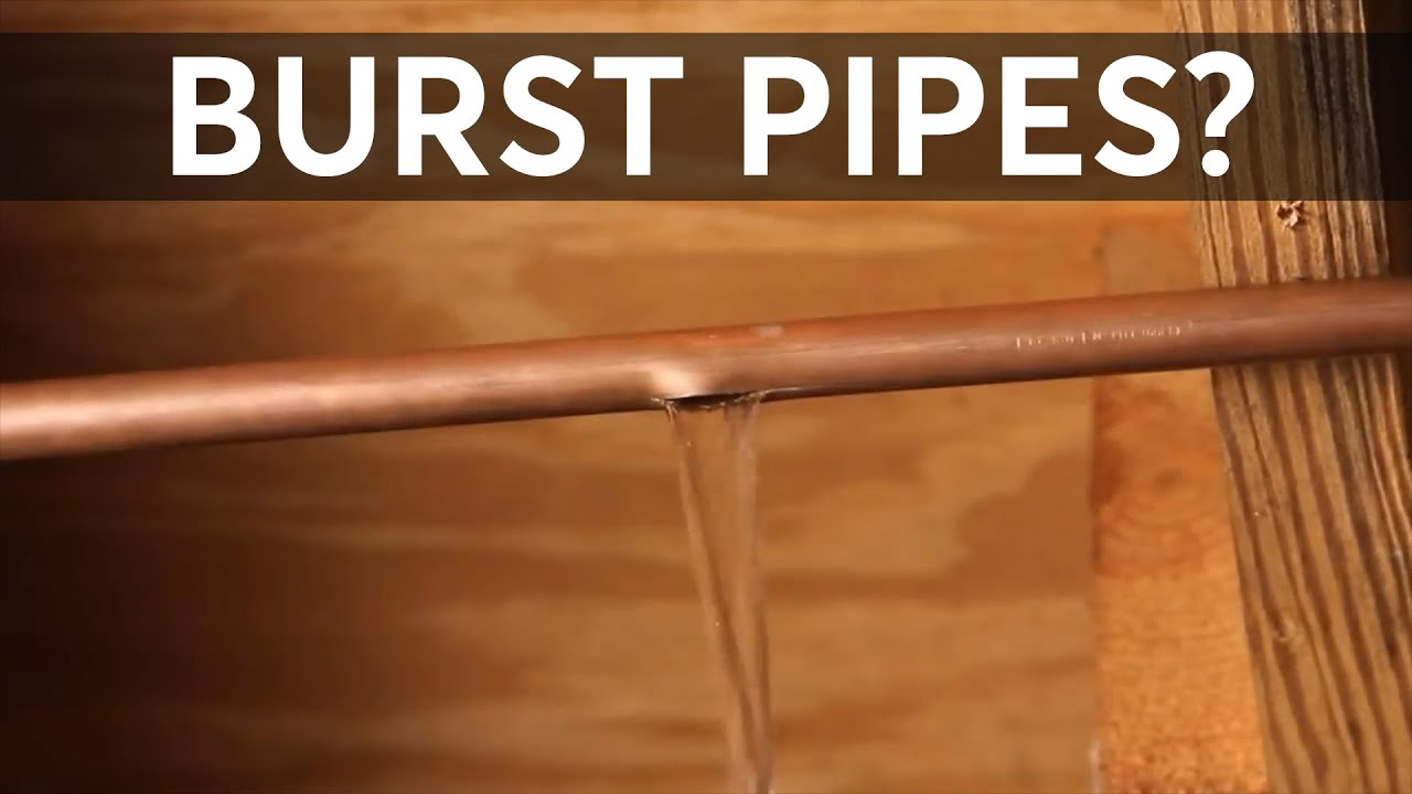 What To Do If Your Pipes Freeze And Burst Consumer Reports