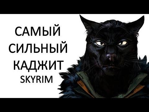 Skyrim | Гайд САМЫЙ СИЛЬНЫЙ КАДЖИТ маг мастер магии изменения! ( БЕЗ ОРУЖИЯ ) MR.CAT Секреты #268