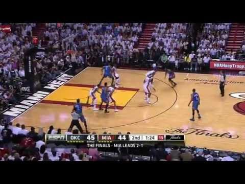 Miami Heat vs Oklahoma City Thunder Game 4 (2012 NBA Finals)