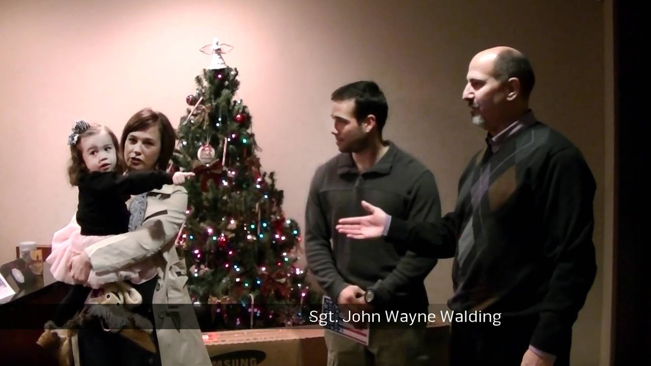 ESA Gives Back - John Wayne Walding - YouTube