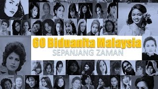 60 Biduanita Sepanjang Zaman / 60 Timeless Malay Music Songbirds