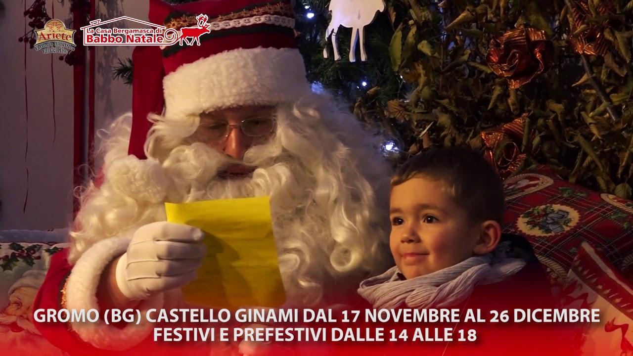 La Casa Bergamasca Di Babbo Natale.La Casa Bergamasca Di Babbo Natale 2018 A Gromo Spot Youtube