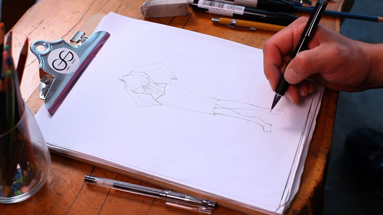 How To Draw Shoes  Fashion Sketching
