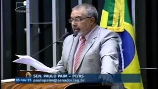 Paulo Paim se diz preocupado com perda dos direitos trabalhistas já conquistados