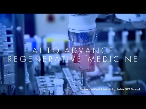 Innovation Japan : AI To Advance Regenerative Medicine