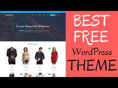 OceanWP - The Best Free Multi Purpose WordPress Theme Demo & Walkthrough