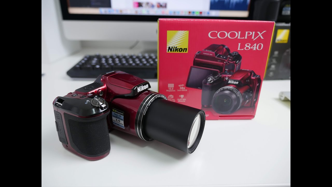 Nikon Coolpix L840 Picture And Video Test - YouTube