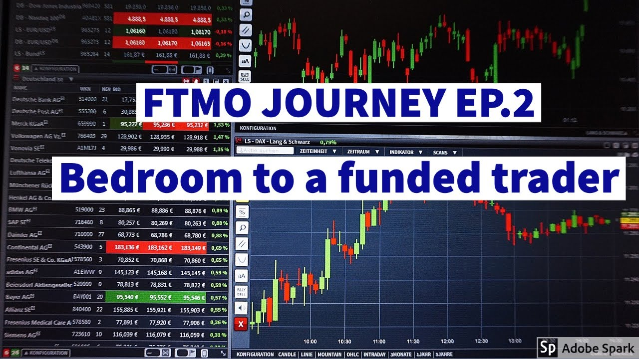 FTMO FOREX TRADING: MY JOURNEY BEDROOM TO FUNDED TRADER EP.2