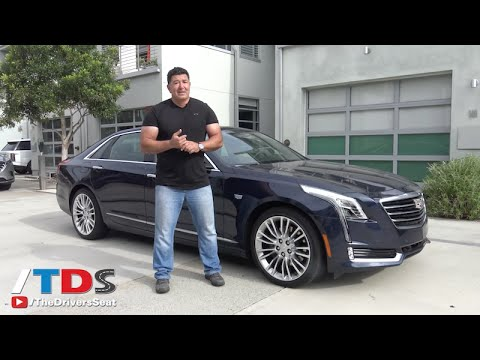 2017 Cadillac Ct6 Luxury Sedan