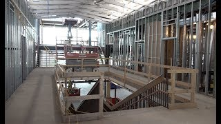 Stoughton Public Library Building Project Walkthrough (5-24-18)