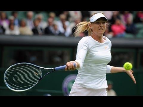 Maria Sharapova on second round defeat at Wimbledon 2013