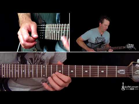 Metallica - Hero of the Day Guitar Lesson