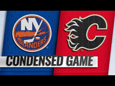 02/20/19 Condensed Game: Islanders @ Flames