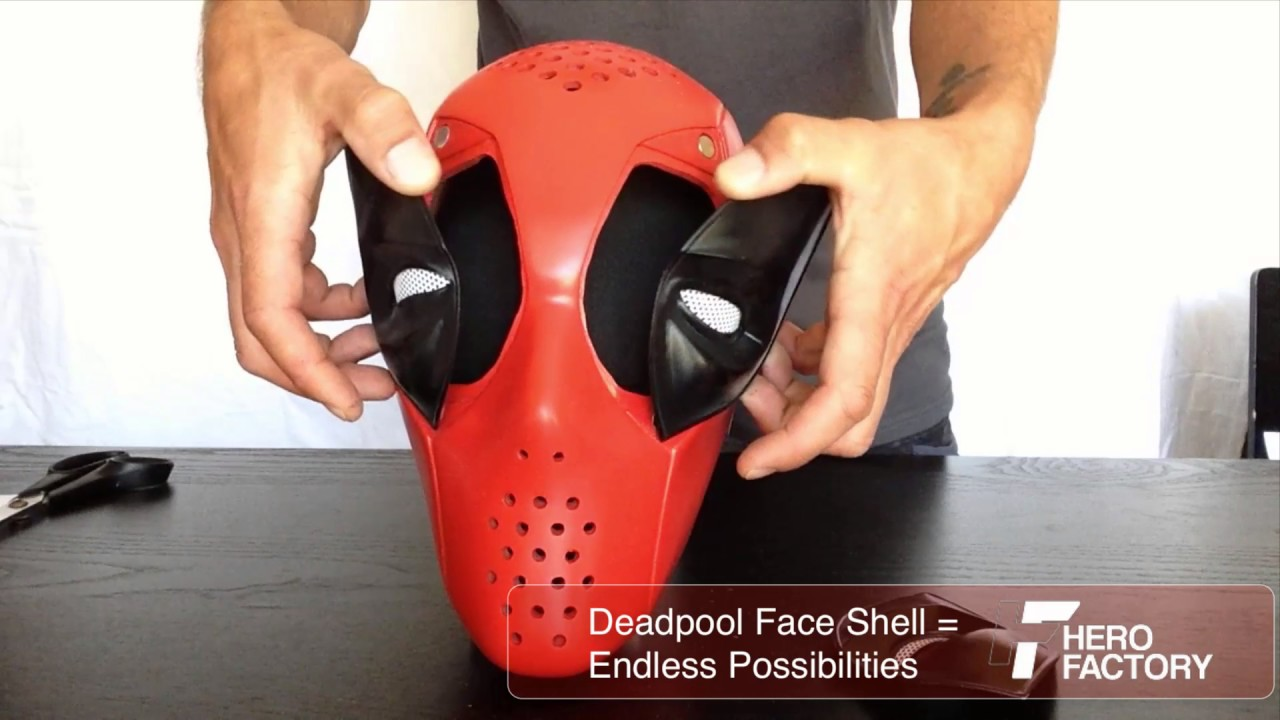 [HD] Create Endless Deadpool Expressions With This Mask