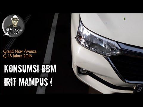 Indikator Grand New Avanza All Camry Sport Tes Irit Konsumsi Bbm G 1 3 Tahun 2016