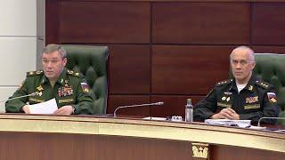 Начальник Генерального штаба Валерий Герасимов: Вызов в военкоматы перенесен.