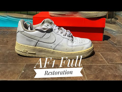 Air Force 1 Full Restoration