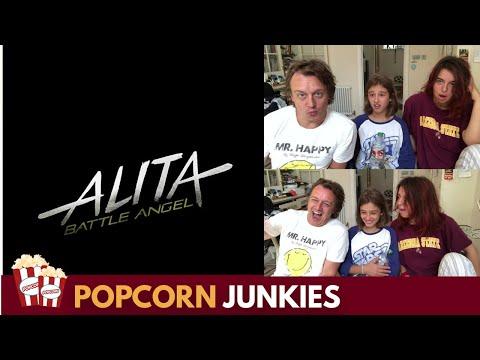 Alita: Battle Angel Official Trailer - Nadia Sawalha & Family Reaction & Review