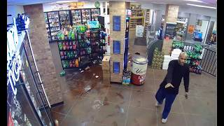 Convenience store fight  at 2:30AM