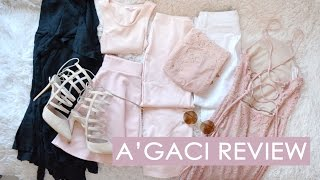 A'gaci Clothing Review // Haul & Try-on // New Favorite store
