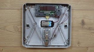 Electronic Bathroom Scales Teardown