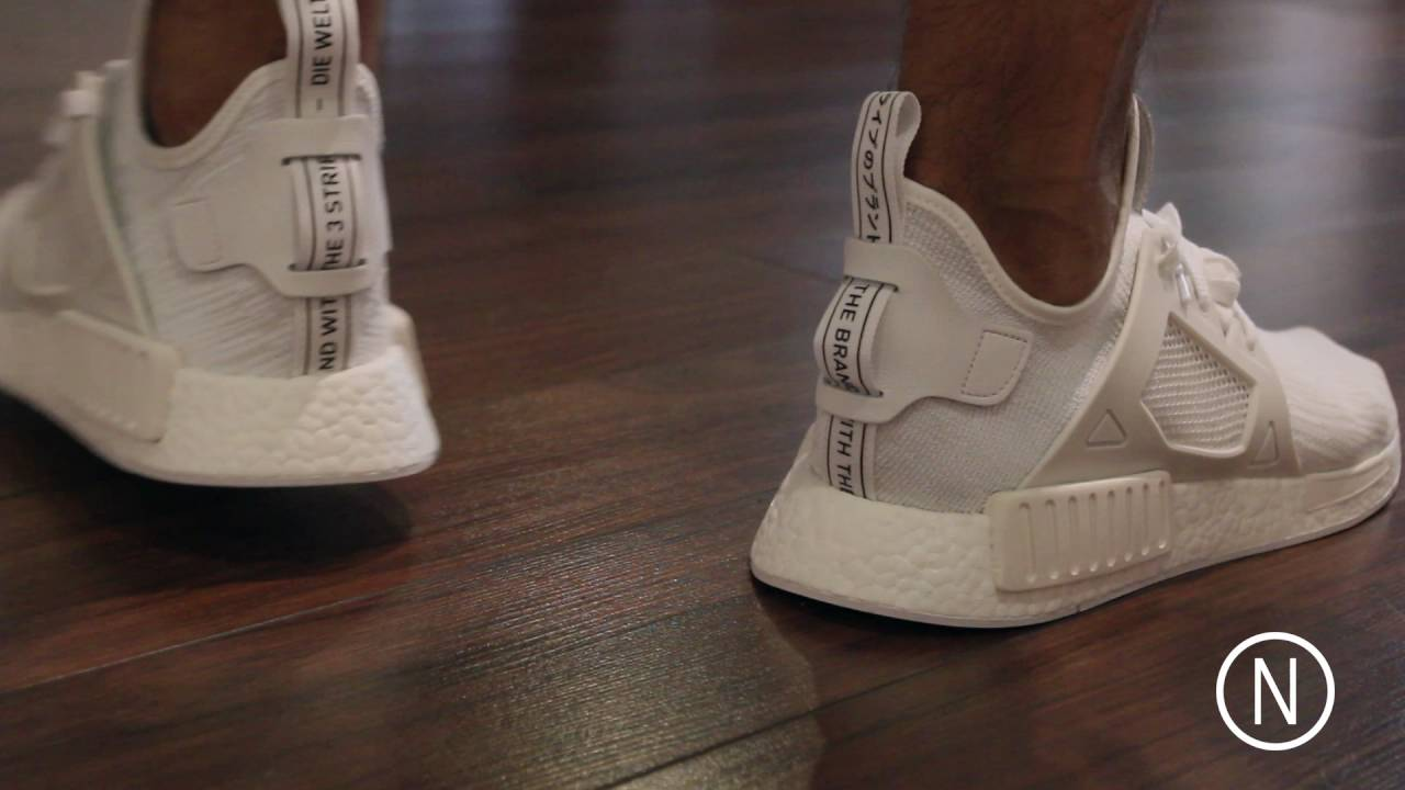 d588850689140 Big Adidas NMD Release, NMD XR1 On Feet NOIRFONCE Sneakers - YouTube