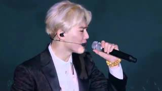 EXO (D.O Baekhyun Suho) - Baby, don't cry [The Lost Planet in Seoul]