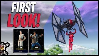RISE OF SKYWALKER PACK First Look (Fortnite Battle Royale)
