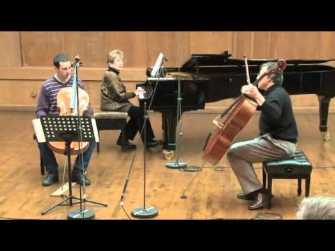 Masterclass with Raphael Wallfisch (Uriyah Tutter, cello)