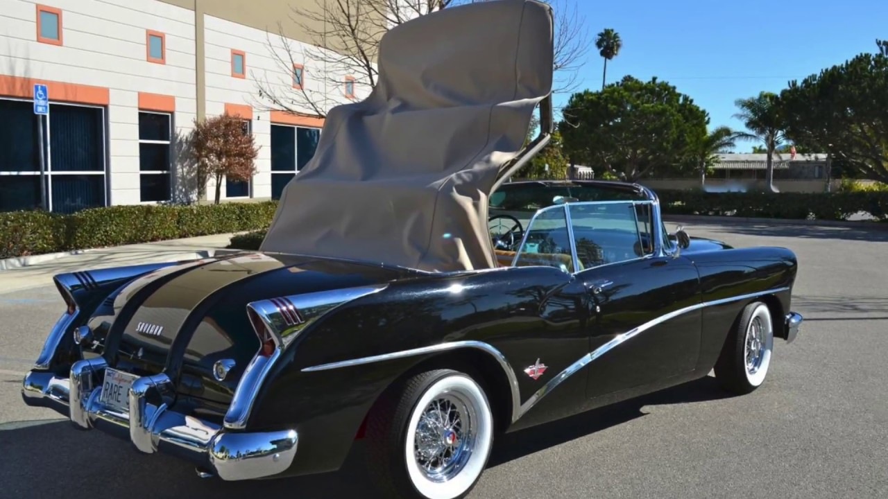 sold 1954 buick skylark convertible ca youtube. Black Bedroom Furniture Sets. Home Design Ideas