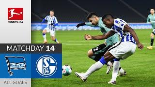 Schalke expands negative record to 30 games | Hertha Berlin - FC Schalke 04 | 3-0 | All Goals