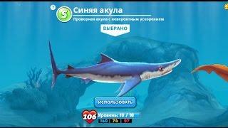 Hungry Shark World Синяя акула Blue shark