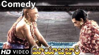 Mayabazar Movie || Ramana Reddy Team Teasing Allu Ramalingaiah Team Hilarious Comedy Scene
