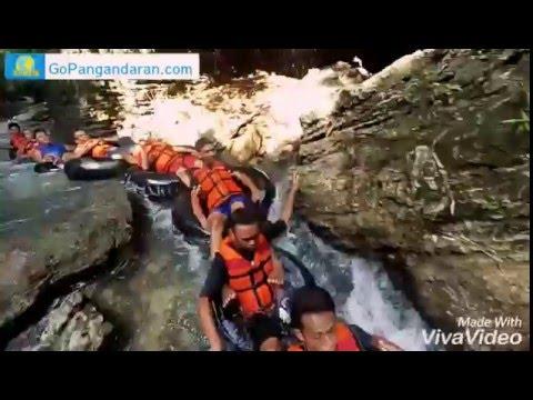 Green Santirah River Tubing & Body Rafting - Santirah Pangandaran - Go Pangandaran