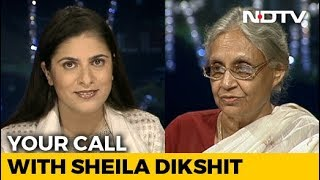 Sheila Dikshit On Her Legacy, Commonwealth Games and Dev Anand (Aired: Oct 2009)