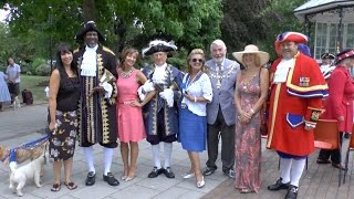 Town Criers Pictures and friends 2014 Dartmouth UK