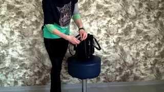 1345z Модельная замшевая сумка(Компактная и легкая сумочка выполнена из высокопрочного Итальянского, натурального замша. http://styleline-opt.com/sum..., 2015-10-30T10:31:36.000Z)