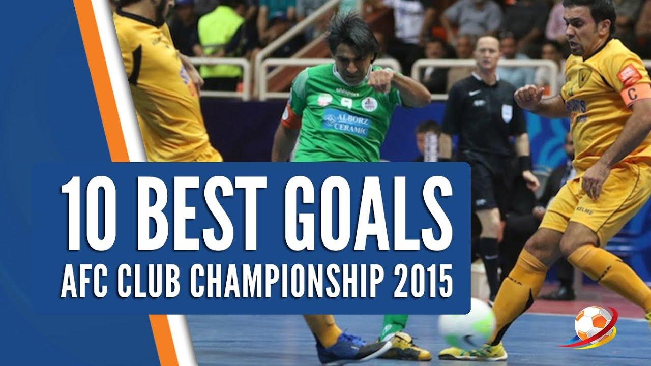 384e6f6463 10 Best Goals AFC Futsal Champions League 2015 - YouTube
